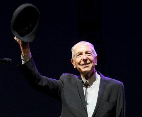 Leonard Cohen no Festival Coachella