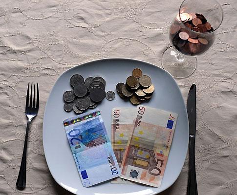 Dinheiro comer