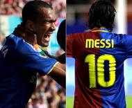 Bosingwa frente a Messi
