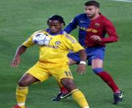Drobga domina a bola perante Piqué