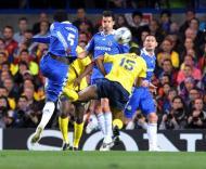 O pontapé de Essien que qualificou o Chelsea para a final da Champions
