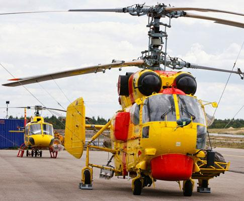 Helicópteros KAMOV - Foto Lusa