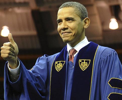 Obama em Notre Dame