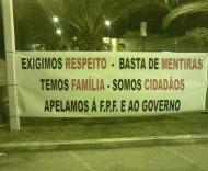 Protesto em Rio Maior