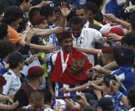 Tarik na festa do F.C. Porto no Estádio Nacional