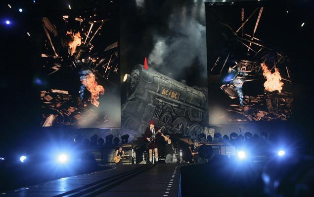 AC/DC no Estádio Alvalade XXI (foto de António Cotrim/LUSA)