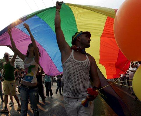 Parada gay na Grécia