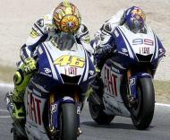 Rossi e Lorenzo, Yamaha