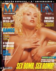 Marisa Cruz na Maxmen 25 - Abril 2003