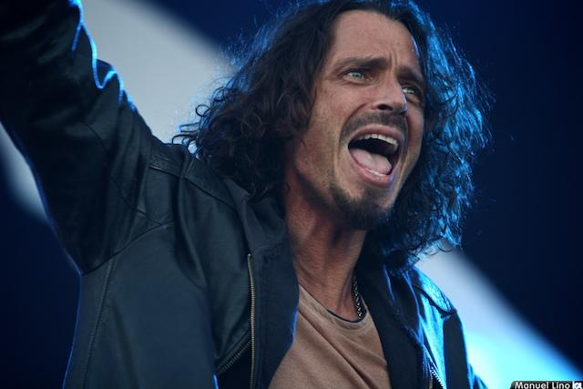 Chris Cornell no Optimus Alive!09 (foto de Manuel Lino)