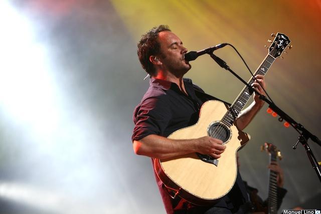 Dave Matthews Band no Optimus Alive!09 (foto de Manuel Lino)