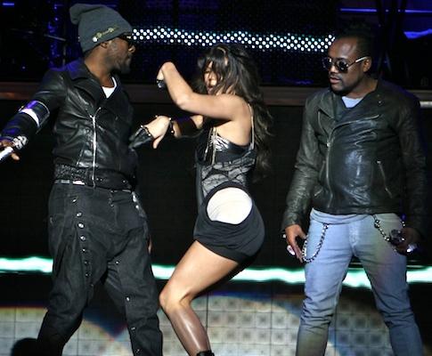 Black Eyed Peas no Alive!09 (foro Manuel Lino)
