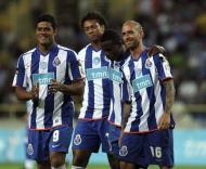 F.C. Porto sorridente no teste com o Leixões