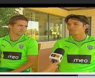 Moutinho e Matías Fernandez