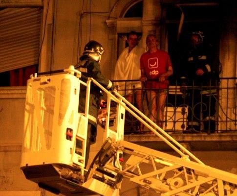 Incêndio em Lisboa faz um morto