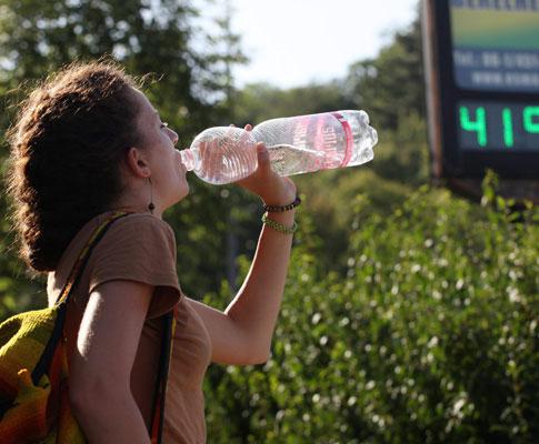 Onda calor na Hungria