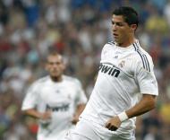 Ronaldo na estreia no Santiago Bernabéu