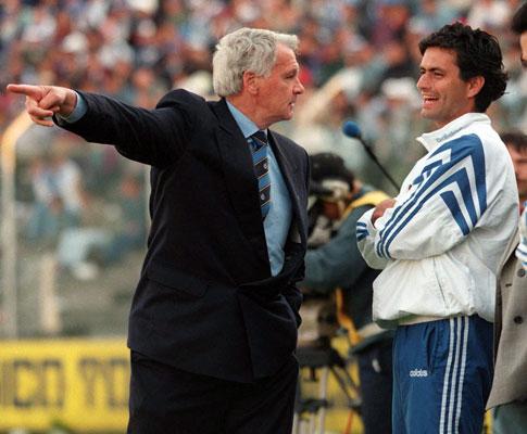 Robson: com Mourinho no F.C. Porto