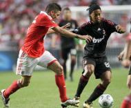 Javi García e Ronaldinho