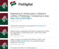 Edcarlos criticado no Twitter do Fluminense