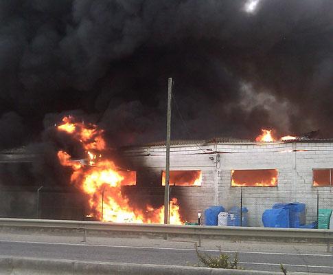 Incêndio na Abrunheira
