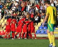 Portugal festeja vitória sobre a Lituânia