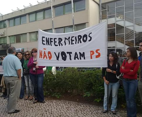 Protesto de enfermeiros (Hugo Beleza)