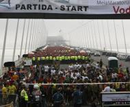 Partida da meia maratona de Lisboa