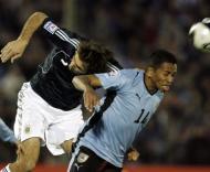 Uruguai-Argentina, Alvaro Pereira em acção