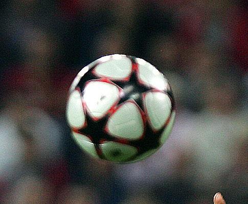 A bola da Liga dos Campeões