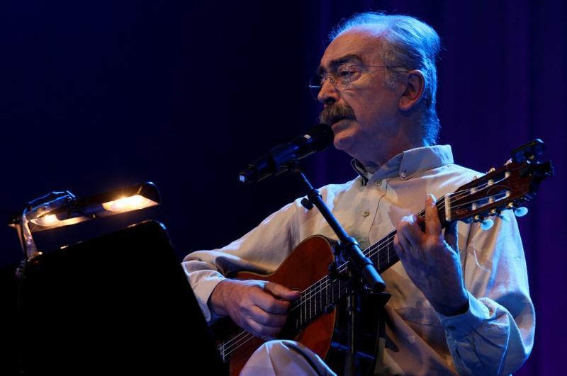 Sérgio Godinho, Fausto e José Mário Branco: Um palco, «Três Cantos» (fotos: Lusa)