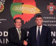Mundial 2018: Madaíl e Villar apresentam logótipo