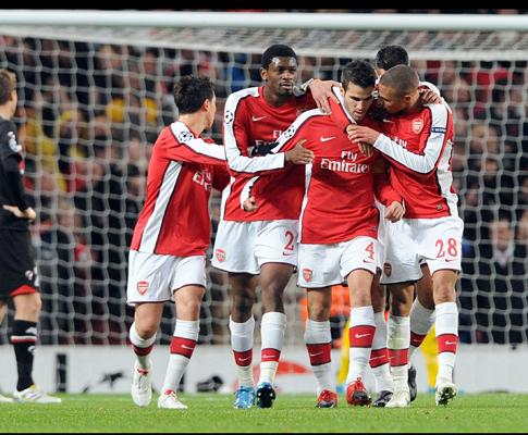 Arsenal vs AZ Alkmaar