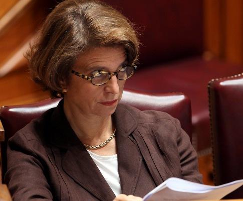 Isabel Alçada no Parlamento