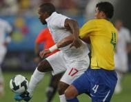Thiago Silva frente à Inglaterra