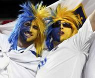 Adeptos bósnios no Estádio da Luz