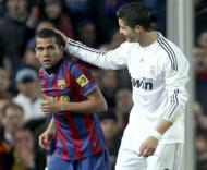 Barcelona-Real Madrid: Ronaldo e Dani Alves