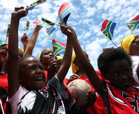 Sorteio: as cores da África do Sul