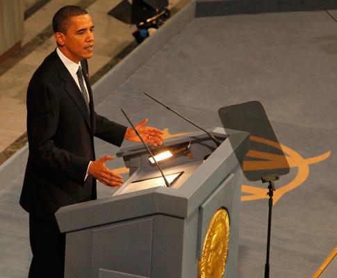Barack Obama recebe Nobel da Paz (Lux)