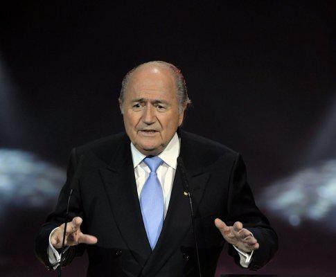 Blatter foi o anfitrião da noite