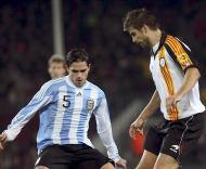 Fernando Gago e Piqué