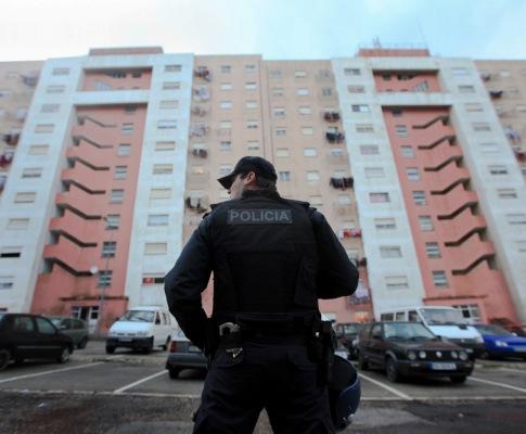 Rusga policial no Bairro de Santa Marta