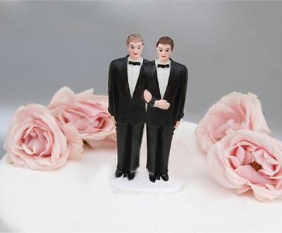Bolo casamento gay
