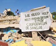 Haiti: ajuda procura-se