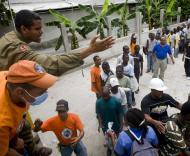 Haiti: ajuda a caminho