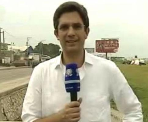 Vítor Gonçalves, jornalista da RTP