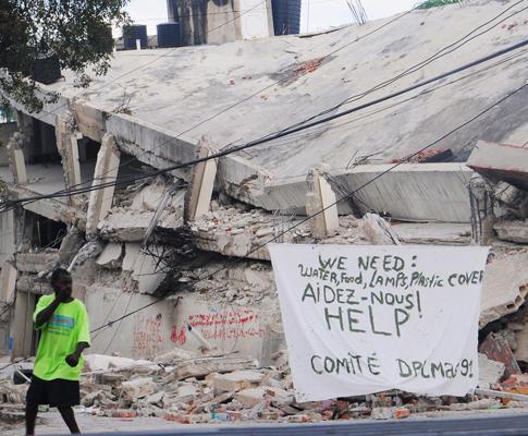 Haiti: pedidos de ajuda
