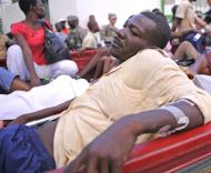 Haiti: sobreviventes