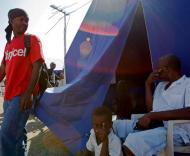 Haiti: família no campo «português»