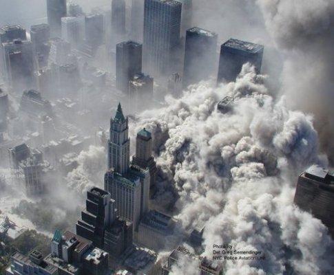 Polícia de Nova Iorque divulga imagens do 9/11
